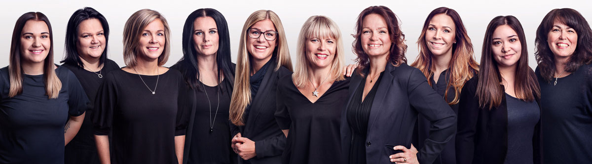 Gruppbild av revisionsbyrån ESSE Revison i örnsköldsvik