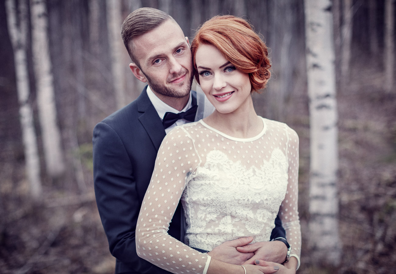 Brudpar väntar på sitt bröllop