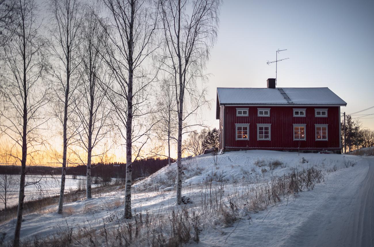 Huset på kullen i Överön med i tidningen sköna hem