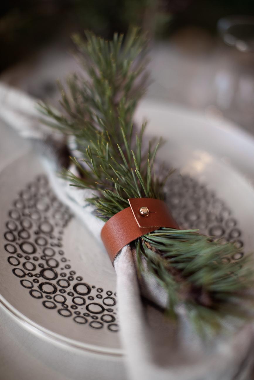 dekoration på juldukning